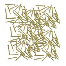 BRASS PLATED STEEL NAILS Ø 0,8 x 5 mm (300 Pcs.)