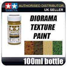 Diorama Texture Paint 100ml - Grass Effect, Khaki