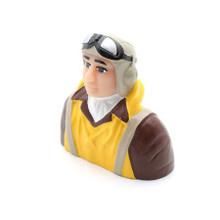 Hangar 9 1/6 WWII Pilot w/ Vest, Helmet, Goggles