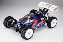 HOBAO Hyper 7 TQ Sport RTR 1/8 Off Road Buggy ( BLUE VERSION ) w/2.4Ghz Radio & HYPER 21 Pull Start