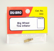 DUBRO 333 TIRE INFLATOR (1 PC PER PACK)