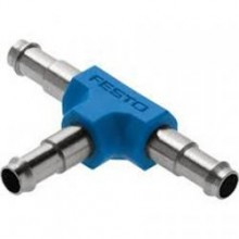 Festo Internal Brass T Connector - Suit 4mm Tube OD