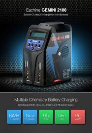 X2 MULIT CHEM DUO CHARGER 2X80W AC/DC