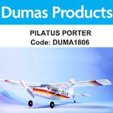 DUMAS 1806 40 INCH PILATUS PORTER R/C ELECTRIC POWERED
