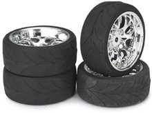 1/10 Touring Car Wheels Rubber   ( 4 Pce )