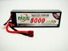 NXE 5000MAH 45C 7.4V H/CASE LIPO W/DEANS