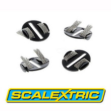 Genuine Scalextric Sport C8329 Quick-Fit Pickup Plates With Braids x 4