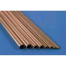 K&S 8120 COPPER TUBE .014 WALL (12IN LENGTHS) 1/8IN (4TUBE PER CARD)
