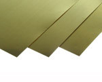K&S 251 SHEET METAL (4IN X 10IN SHEETS) BRASS .010 (2 SHEET PER BAG )