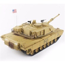 Henglong M1A2 R/C Tank RTR + Smoke/Sound 1/16