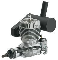 OS GT-22 GASOLINE ENGINE W/E-5040 SILENCER