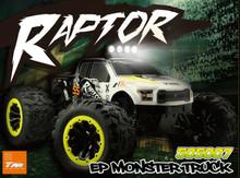 E6 RAPTOR EP MONSTER TRUCK 6S YELLOW