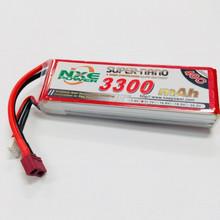 NXE 11.1V 3300MAH 40C SOFT CASE W/DEANS