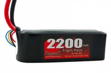 BATT., 14.8V LIPO, 2200MAH, 30C, FLIGHT