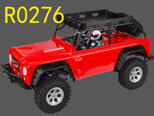 1/10 MC28 Brushed Crawler RED   RTR INC BATT AND CHARGER