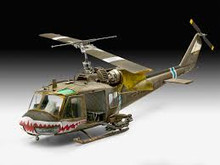 Revell  Bell UH-1C 1:35 SCALE Plastic Kit