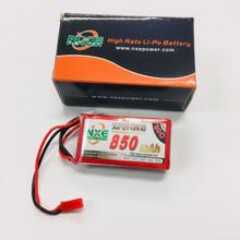 NXE 7.4v 850mah 30c Soft case w/JST