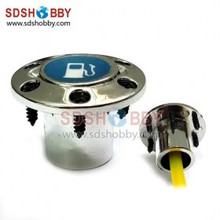 Plastic Fuel Plug/ Filler Nozzle/ Engine Accessories for Gasoline and Methanol Aircraft Refueling