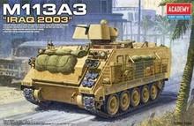 ACADEMY 13211 1/35 M113 IRAQ VER. PLASTIC MODEL KIT