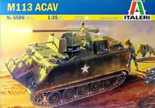 ITALERI 6506 1/35 M113 ACAV PLASTIC MODEL KIT
