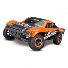 TRAXXAS SLASH BRUSHED 2WD SHORT COURSE ORANGE 1/10