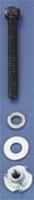 DUBRO 129 SOCKET BOLT & NUT SET 4-40 X 1in (4 PCS PER PACK)