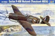 TRUMPETER 02228 1/32 CURTISS P-40B WARHAWK