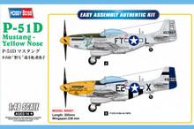 1:48 P-51D MUSTANG YELLOW NOSE
