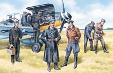 1:48 LUFTWAFFE PILOTS&G.P(1939-45)(7FIG)