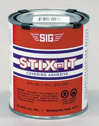SIG STIX-IT Heat Activated Covering Adhesive (16oz)