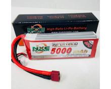 NXE 11.1v 5000mah 40c S/case Lipo w/dean