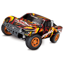 TRAXXAS SLASH 4 X 4 - ORANGE SHORT COURSE ORANGE 1/10