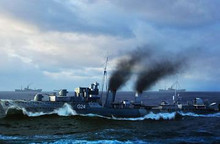 TRUMPETER 05333 1/350 HMCS HURON DESTROYER 1944 *AUS DECALS*