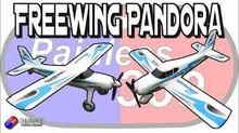 "Freewing Pandora 4-in-1 Blue 1400mm (55"") Wingspan READY TO FLY"