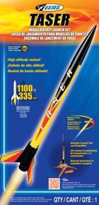 ESTES 1491 TASER BEGINNER MODEL ROCKET LAUNCH SET