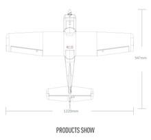 Ranger 1220 RTF Mode 1 with floats