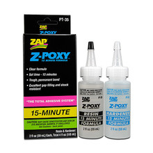ZAP Z-POXY 15 MINUTE EPOXY 4 oz.