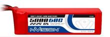 LiPo 5800mAh 6S 22.2V 60C (XT90 plug)