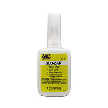 SLO- ZAP CA- (Yellow Label) Thick Viscosity 1 oz (Due to coronavirus delays please use bsi112)