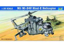 TRUMPETER 05103 1/35 HELICOPTER - MIL MI-24V HIND-E