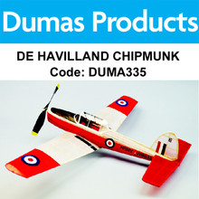 DUMAS 335 DE HAVILLAND CHIPMUNK 30 INCH WINGSPAN RUBBER POWERED RUBBER POWERED RUBBER POWERED RUBBER POWERED