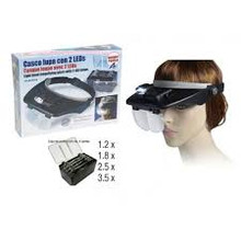 ARTESANIA 27054-1 HANDS FREE MAGNIFIER GLASSES WITH 2 LED LIGHTS MODELLING TOOL