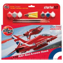 AIRFIX RED ARROWS HAWK 2015 1/72 SCALE