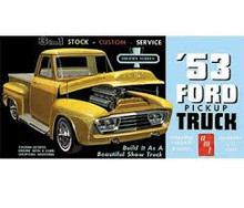 1/25 1953 FORD PICKUP PLASTIC MODEL KIT