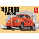 1:25 1940 FORD COUPE PLASTIC MODEL KIT