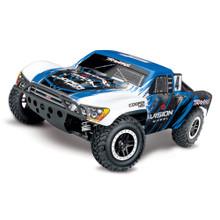 TRAXXAS SLASH 4X4 4WD TSM - VISION BLUE