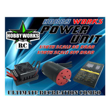 Hobby Works RC Combo Brushless 50A W/P 4000kv
