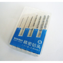 Drill Bit Set 1.8 - 3.0mm 7 pieces
