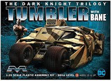 MOEBIUS 967 1/25 DARK KNIGHT ARMORED TUMBLER W/ BANE PLASTIC MODEL KIT