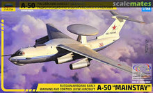 "ZVEZDA 7024 1/144 BERIEV A-50 ""MAINSTAY"" PLASTIC MODEL KIT"